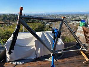 M Lynskey ProCross titanium cyclocross frame and carbon fork gravel chris king