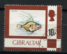 Fish Used British Colonies & Territories Postage Stamps