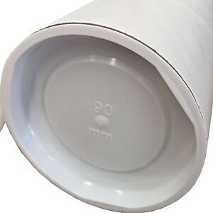 1- High Quality White Mailing Tubes 1040x90x1.8mm Shipping in Melbourne