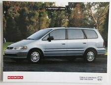 HONDA ODYSSEY 1998 dealer brochure catalog - French - Canada