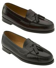 COLE HAAN Men's Leather Tassel Loafer in Black or Burgundy, Orig. $158.00