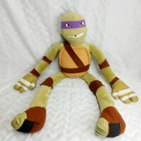 "TEENAGE MUTANT NINJA TURTLES DONATELLO TURTLE 10"" Plush Stuffed Animal Toy"