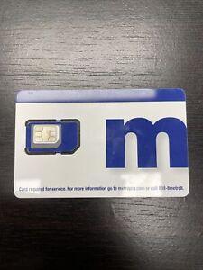 MetroPCS Metro By T-Mobile Triple Cut SIM Card NC128TRIPLESIM - EXP 2023
