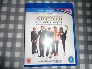 Kingsman: The Secret Service Blu-ray (2015) Samuel L. Jackson, Vaughn,free p+p