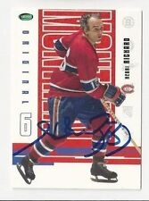 2004 Parkhurst Autographed Hockey Card Henri Richard Montreal Canadiens