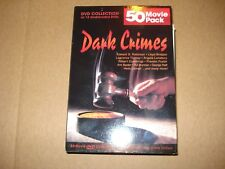 Like New Classic Dark Crimes Movie Collection Of 50 Movies 12 Double Sided DVD's