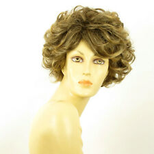short wig for women curly brown wick golden ref MARIE LOU 6t24b PERUK