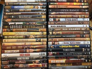 DVD PICK and CHOOSE From 100's of Westerns, War, Classics -  Combined Shipping