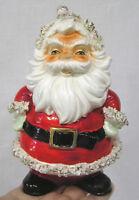 Vintage LEFTON Christmas Spaghetti Santa Hors Doeuvres Pick Holder 1950s Japan