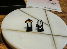 Studio Ghibli - No Face - Spirited Away - Mismatch - Earring Set - Gift Boxed
