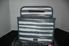 Thirty One Double Duty Caddy in Grey Brush Strokes NWT