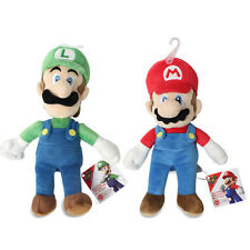 Set of 2 - Luigi & Mario - Sanei Super Mario All Star Collection Plush Doll