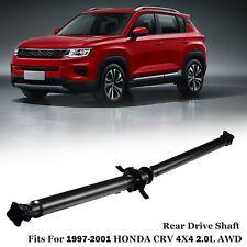 Driveshaft Drive Shaft For 1997 2001 Honda Crv Cr V 4x4 20l Awd 40100 S10 A01