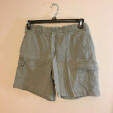 caribbean joe womens shorts size 6 khaki cargo