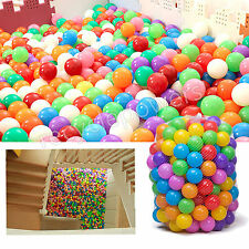 400 Quality Safe Baby Kid Pit Toy Swim Fun Soft Plastic Ocean Ball Colorful