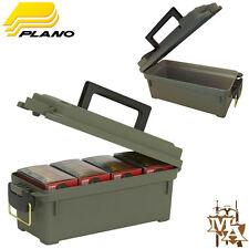 PLANO SHOT SHELL CARTUCCIA AMMO BOX La Caccia Shooting Bloccabile Arrotonda BULLET caso