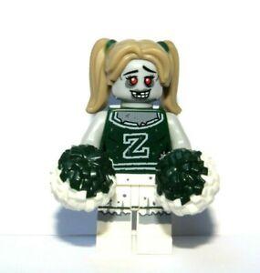 Lego Zombie Cheerleader Girl Minifigure Halloween Monster Dancer