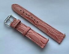 18 MM TIMEX COLOR PINK GENUINE LEATHER WATCH BAND