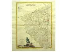 1 Orig altkolor.Kupferstichk v Zatta 1780 WESTBÖHMEN