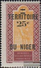 Frans-Niger 22 met Fold 1922 Tuareg