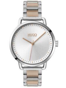 Hugo Boss Mellow Two-tone Steel Bracelet Silver Ladies Watch (1540057)