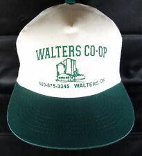 Grain Elevator Snapback Hat Walters OK Coop Cap Grain Seed Rural Oklahoma