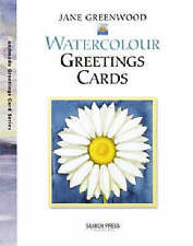 Watercolour Greeting Cards by Jane Greenwood NEW Craft Paint Cardmaking Book