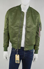 ALPHA INDUSTRIES MA-1 REVERSIBLE CAMO SAGA GREEN HERREN Bomberjacke  XL