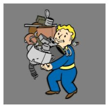 Fallout 76 xbox one 400,000 Junk, Read Description