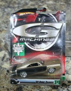 HOT WHEELS G MACHINES 1969 DODGE CHARGER - HEMI - 1/50