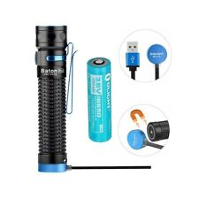 Olight Baton Pro 2000 Lumens magnetic rechargeable LED flashlight 18650 Battery