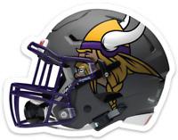 Minnesota Vikings Helmet w/ Norseman Logo NFL MAGNET - Wicked Cool Magnet !!!