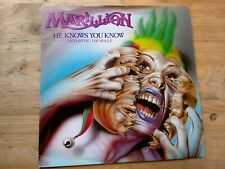 "Marillion He Knows You Know 7"" Single Excellent Vinyl Record EMI 5362 P/S"