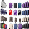 """PC Hard Shell Cabin Suitcase Case 4 Wheels Luggage Lightweight 20"""" 24"""" 28"""""""