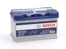 S4E11 S4 E11 Bosch Car Battery Stop Start 12V 80Ah 800A Type 115 4 YEAR WARRANTY