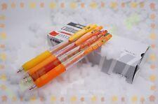 ZEBRA sarasa JJ15 colored easy clip gel pens 0.5 mm 4 ORANGE colors set