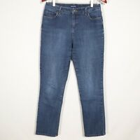 BANDOLINO MANDIE women's blue jeans, s8 denim straight leg AVERAGE PERFECT
