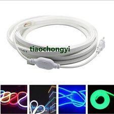 120leds/m RGB SMD 2835 5050 Flex soft led neon rope strip bar light 220V