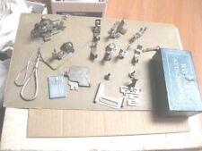 Vtg Kenmore High Shank Sewing Machine Attachments Feet w/BOX & EXTRAS