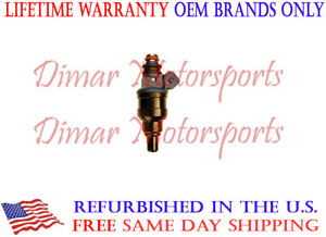 1993-1996 MIGHTY MAX 2.4L I4 Single OEM Fuel Injector