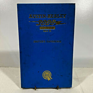 Original Austin-Healey 3000 MK III Sports Convertible BJ8 Driver's Handbook 1966