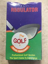 Vintage Fox 40 Regulator Golf Rules Challenge Card Game Sealed