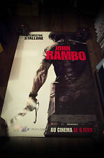 JOHN RAMBO Style A 4x6 ft Bus Shelter D/S Movie Poster Original 2008