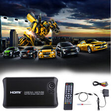 Full 1080p HD Hard Disk Media Player HDMI/AV Output Sd Card USB SATA /IDE input