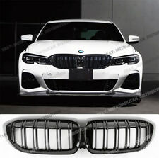 BMW 3,G20,saloon estate,M Performance double bars grilles,gloss black,M340i M3