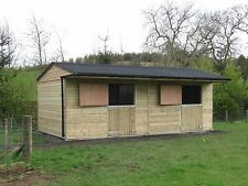 10 x 20 stable ,timber stables, stable block, AB014