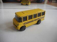 Corgi Mercedes Benz School bus in Yellow
