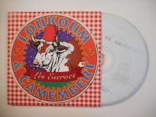 LES ESCROCS : LOUKOUM & CAMEMBERT [ CD SINGLE PORT GRATUIT ]