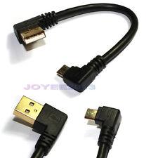 Soutien 2.1A 15cm angle droit L Micro B USB Câble Charge pour Tablet Android