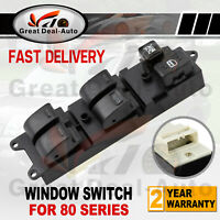 Master Power Electric Window Switch for Toyota Landcruiser 80 Series 1990-1998